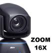 16X zoom PTZ Camera